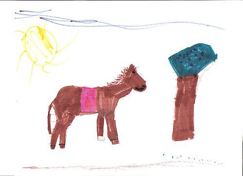 Leah horse art