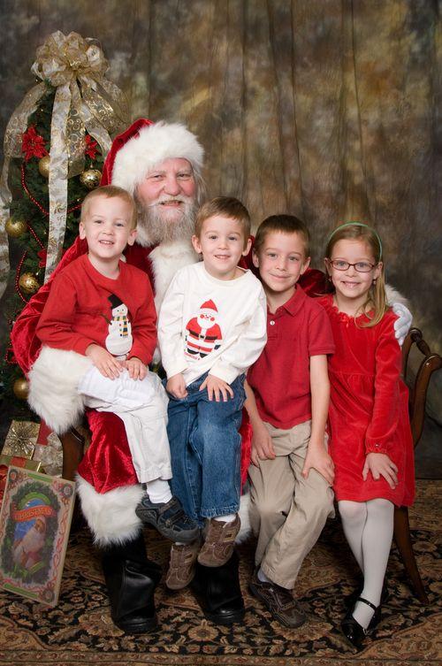 Pic with Santa