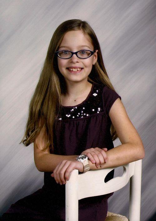 Leah 4th grade pic Spring 2012